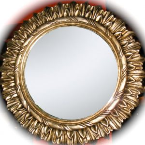Gold-leaf-sun-mirror