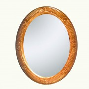 Medallion-gold-leaf-mirror