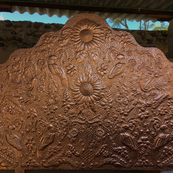 Headboards Punched tin